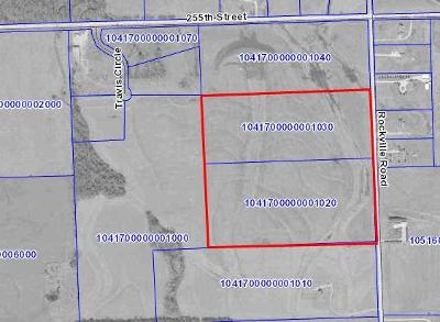 Miami County Residential Lots & Land For Sale: 255th Rockville Road