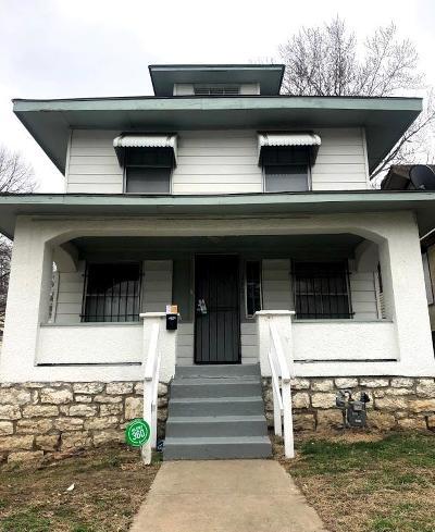 Kansas City Single Family Home For Sale: 3801 Bellefontaine Avenue