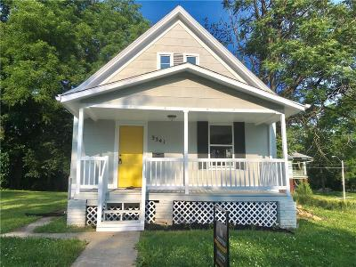 Kansas City Single Family Home For Sale: 3341 Brooklyn Avenue
