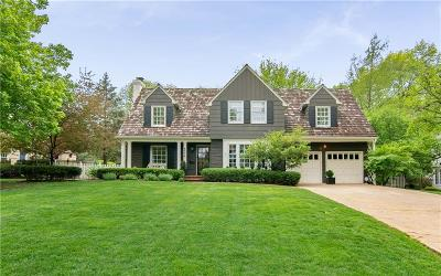 Mission Hills Single Family Home For Sale: 6536 Overbrook Road