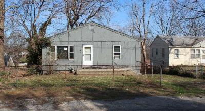 Cass County, Clay County, Platte County, Jackson County, Wyandotte County, Johnson-KS County, Leavenworth County Single Family Home Auction: 319 S Hocker Avenue