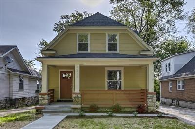 Kansas City Single Family Home For Sale: 6211 Tracy Avenue