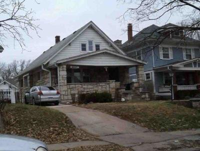 Kansas City Single Family Home Auction: 438 N 17 Street