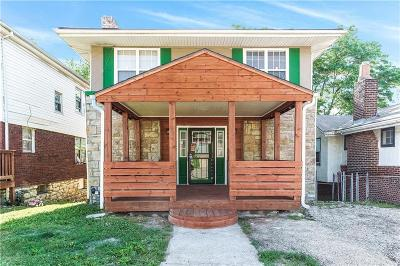 Kansas City Single Family Home For Sale: 4037 Paseo Boulevard
