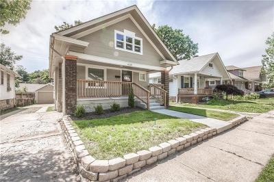 Kansas City Single Family Home For Sale: 4318 Cambridge Street