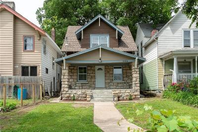 Kansas City Single Family Home For Sale: 3504 E 10th Street