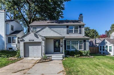 Kansas City Single Family Home For Sale: 6708 Holmes Road