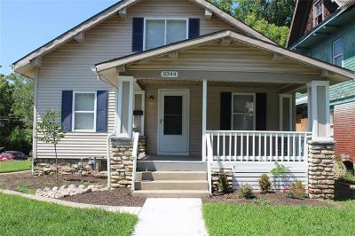 Kansas City Single Family Home For Sale: 3344 S Benton Avenue