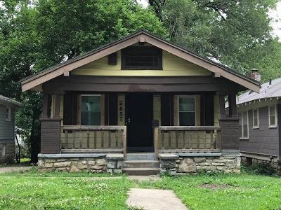 Kansas City Single Family Home For Sale: 5827 Garfield Avenue