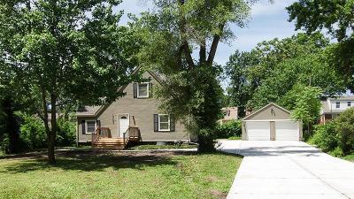 Single Family Home For Sale: 7600 Locust Street