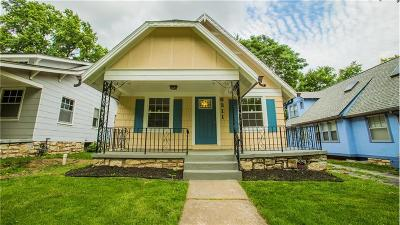 Kansas City Single Family Home For Sale: 6211 Rockhill Road