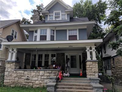 Kansas City Single Family Home For Sale: 3430 Chestnut Avenue