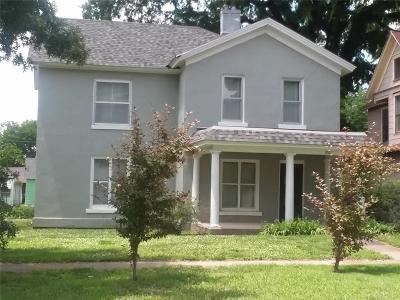 Bourbon County Single Family Home For Sale: 210 S Judson Street