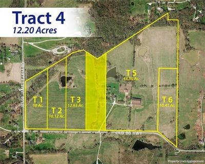 Clay County Residential Lots & Land For Sale: 16524 Old Bb Highway