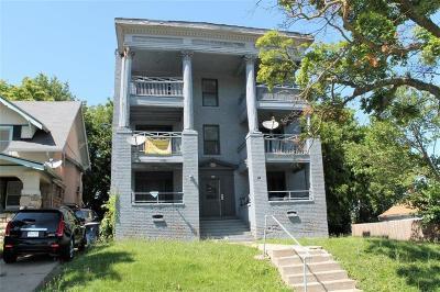 Kansas City Multi Family Home For Sale: 3300 E Linwood Boulevard