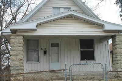 Kansas City Single Family Home For Sale: 3115 Chelsea Avenue