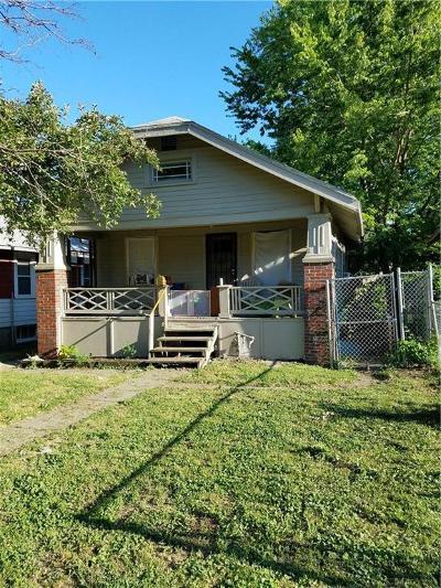 Kansas City Single Family Home For Sale: 5237 E 8th Street