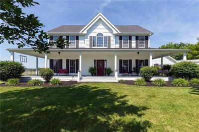 Single Family Home For Sale: 8380 Bruns Road