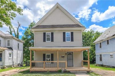 Kansas City Single Family Home For Sale: 1319 32nd Terrace