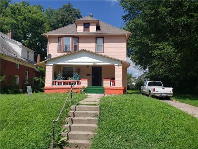 Kansas City Single Family Home For Sale: 2501 Jackson Avenue