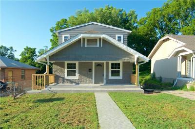 Kansas City KS Single Family Home For Sale: $135,900