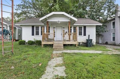 Bonner Springs KS Single Family Home For Sale: $115,000