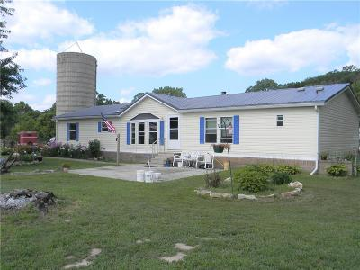 Oskaloosa Single Family Home For Sale: 9207 Nemaha Road