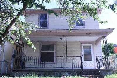 Kansas City Single Family Home For Sale: 5033 E 9th Street