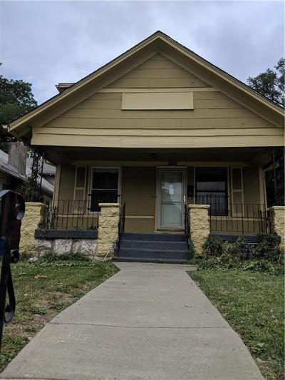 Kansas City Single Family Home For Sale: 2937 Paseo Boulevard