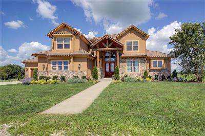 Louisburg KS Single Family Home For Sale: $1,478,950
