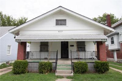 Kansas City Single Family Home For Sale: 3227 Jackson Avenue