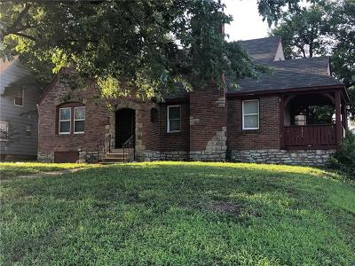 Kansas City Single Family Home For Sale: 1346 E 76th Street