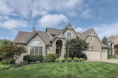 Overland Park KS Single Family Home For Sale: $550,000