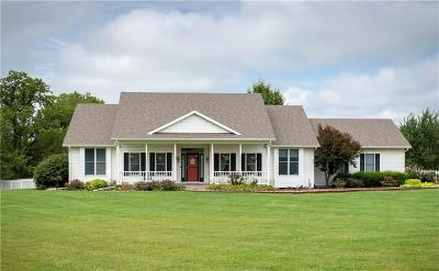Louisburg Single Family Home For Sale: 31644 Metcalf Road