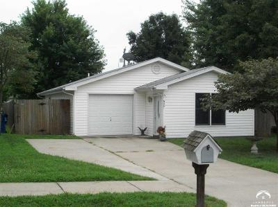 Lawrence KS Single Family Home Sold: $102,500