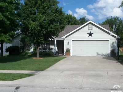 Lawrence KS Single Family Home Sold: $187,900