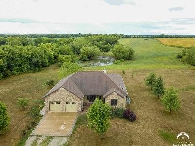 Baldwin City Single Family Home Under Contract: 849 N 400 Road