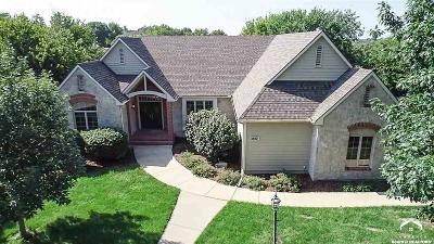 Lawrence Single Family Home Under Contract/Taking Bu: 1517 Foxfire Drive