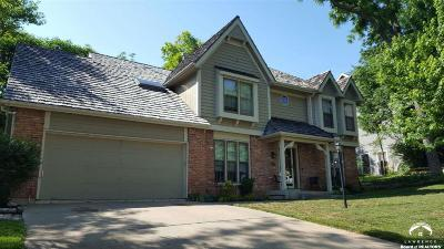 Lawrence Single Family Home For Sale: 4512 Cedar Ridge Court