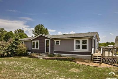 Baldwin City Single Family Home Under Contract/Taking Bu: 95 E 1600 Rd