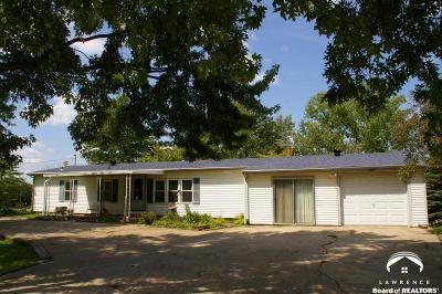 Ozawkie Single Family Home Under Contract: 10495 Kaw Lane