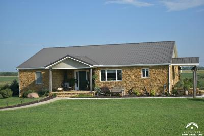 Oskaloosa Single Family Home For Sale: 11621 Nemaha Rd