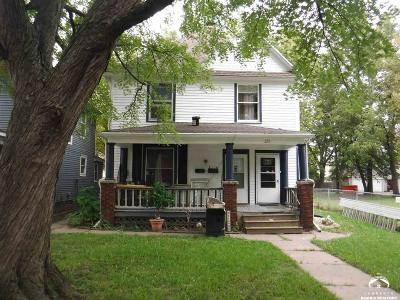 Topeka Multi Family Home For Sale: 223 SW Fillmore St
