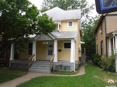 Topeka Multi Family Home For Sale: 1263 SW Tyler St