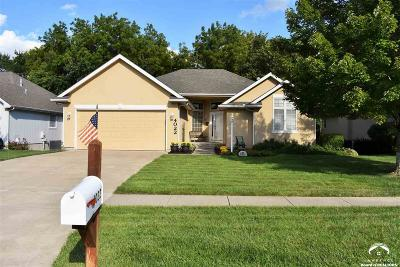 Topeka Single Family Home Under Contract: 4022 SW Lincolnshire Rd