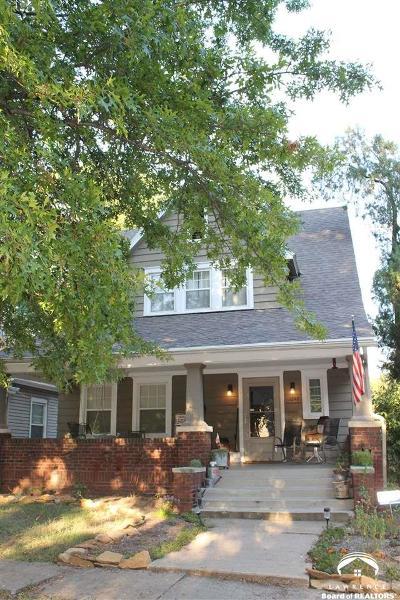 Topeka Single Family Home For Sale: 1246 SW Wayne Ave