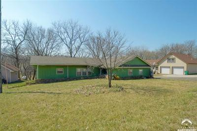 McLouth Single Family Home Under Contract/Taking Bu: 5364 Choctaw Lane