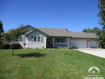 Baldwin City Single Family Home Under Contract: 21 E 1700 Road