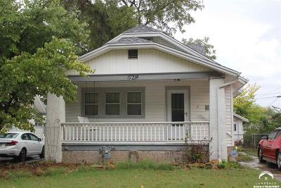 Topeka Single Family Home For Sale: 628 SW Lindenwood Ave