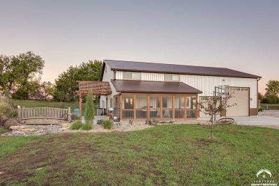 Baldwin City Single Family Home For Sale: 1336 N 550 Road